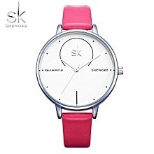 Leather Strap Quartz Watch Women Watches Brand Luxury Clock