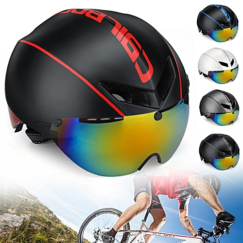 c08a9cc1330 Generic Aero-R1 Road Cycling Helmet Goggles Racing Bicycle Safety Helmet  in-mold Goggle