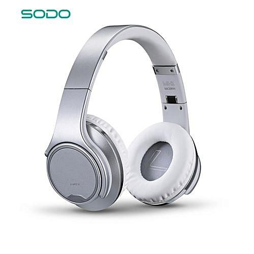2 in 1 Bluetooth Headphones, Speaker, FM Radio, Memory Card , AUX IN Hands-free + Microphone
