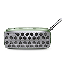 NR - 4011 Waterproof Wireless Bluetooth Speaker Stereo Sound Player-ARMY GREEN