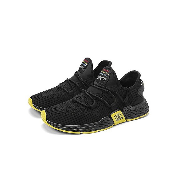 2019 New Mens Fashion Sneakers Slip On Loafer Flyknit Sew Free Run Ribbon  Sport Shoes