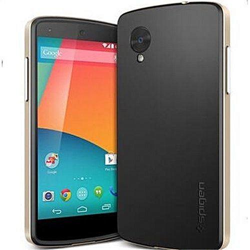 huge selection of 0b3a2 348a9 LG Nexus 5 Bumper Case Neo Hybrid Phone Bag Cases Cover For GoogleNexus5  E980 D821 (Color:Gold)