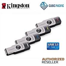 Kingston Data Traveler Swivl 16GB/32GB/64GB/128GB USB 3.1 (DTSWIVL) (16GB) LJMALL