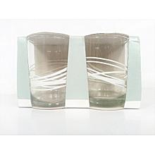Night cap set of 2 mixer glasses