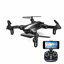 FQ777 FQ31W WIFI FPV With 0.3MP Camera Altitude Hode Foldable RC Drone Quadcopter RTF-black silver Mode 2