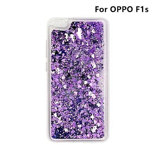 lowest price 54476 fb0d0 Phone Case For OPPO F1s ,Luxury Bling Fashion Lovely Heart Bling Glitter  Liquid Quicksand Phone Case [Drop Protection] [Anti-Scratch] Soft Case  Cover ...