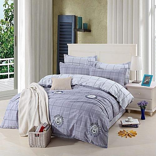 Printing Bedding Bedlinen Set 4pcs In 1 Duvet Quilt Cover Bedsheet  Pillowcases With Full Sizes