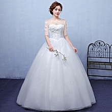 Wedding Gowns,Simple Evening Dresses-White