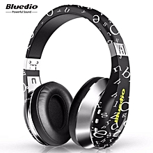 Bluedio A Wireless Bluetooth Flexible Headphone Headseat with Mic