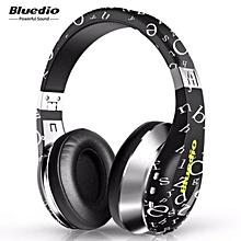 Bluedio A Wireless Bluetooth Flexible Headphone Headseat with Mic