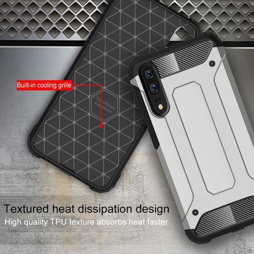 casinghp Premium Quality Carbon Shockproof Hybrid Case for Xiaomi Redmi 6A - Black - 3 .