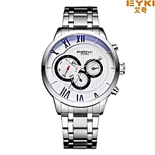 Eyki Couple Weave Mech Strap Watches Classic Simple Milanese Stainless Steel Men Women Business Watch Japan Movement With Box Watches
