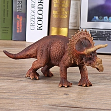 Realistic Triceratop Dinosaur Animal Model Figure Kids Early Educational Toys Gift
