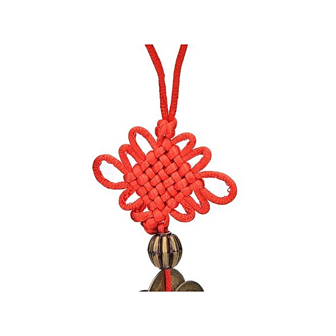 Buy Universal Feng Shui Mystic Knot 10 Chinese Lucky Coins Cures