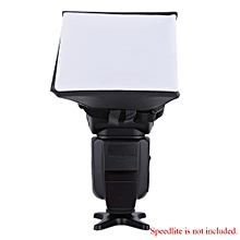Portable Photography Flash Diffuser Mini Softbox Kit for  EOS Nikon Olympus Pentax Sony Sigma DSLR Speedlite Flash
