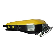 Professional Electric Hair Clipper - Black And Yellow