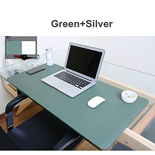 Photo Both Sides Extended Pu Leather Mouse Pad Mat Large Office Gaming