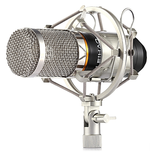 Leadsmart LEIHAO BM - 800 Condenser Sound Recording Microphone and Metal  Shock Mount for Radio Broadcasting Studio Voice Recording
