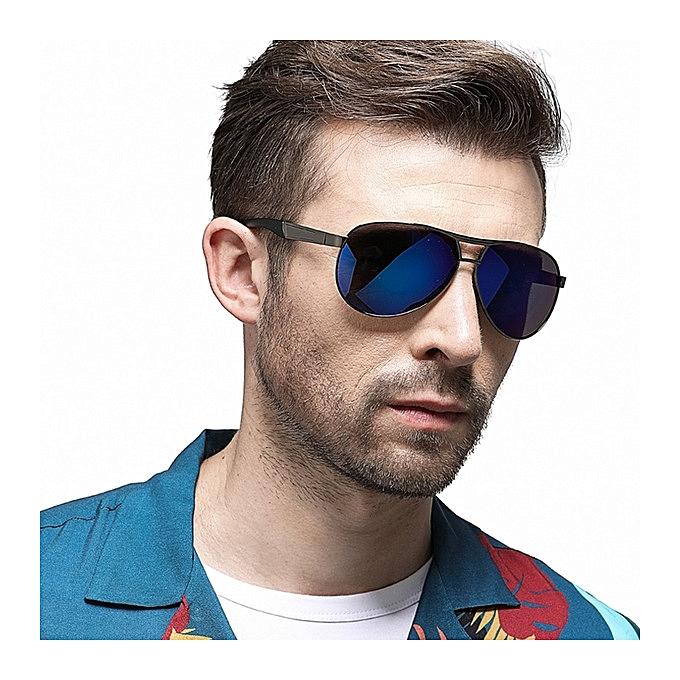 4e8e36eeea9 Generic Polarized Sunglasses Classic Driving Mirror Men S Glasses. Men  Eyeglasses