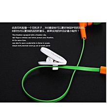 Guoaivo3.5mm Super Bass Stereo In-Ear Earphone Headphone Headset For Tablet MP3 OR -Orange