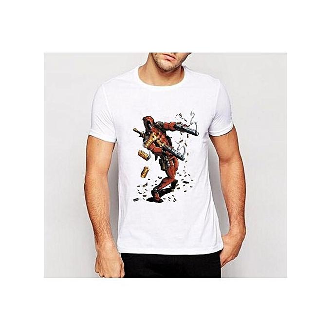 Generic New Deadpool T Shirt Men Casual Short Sleeve O Neck Tshirts