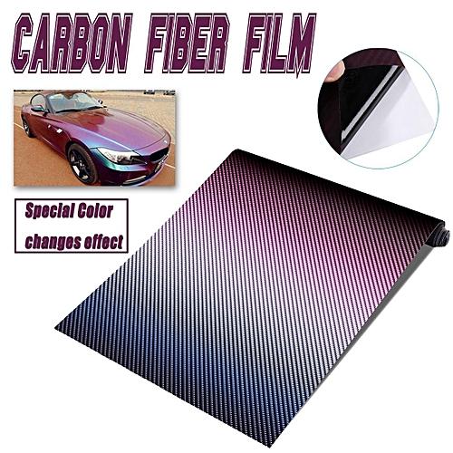 3D Carbon Fiber Vinyl Car Wrap Sheet Roll Film Sticker Decal 30cmx152cm