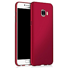 Ultra Slim Fit Shell Hard Plastic Full Protective Anti-Scratch Resistant Cover Case for iPhone Samsung Galaxy J2 Prime (Silky Red)  XYX-S