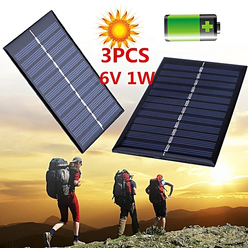 6V 1W Solar Panel Solar System Power Cell Phone Chargers