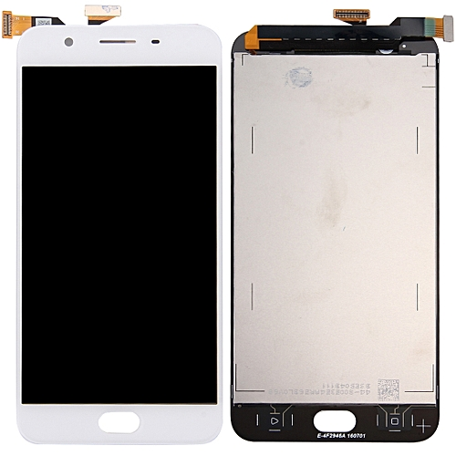 iPartsBuy OPPO A59 / F1s LCD Screen + Touch Screen(White)