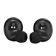 Wireless TWS Mini True Bluetooth Twins Stereo In-Ear Headset Earphone Earbuds-black