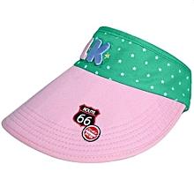 Children Hat Empty Hat Baby Hat Cute Children Sun Hat (Pink)