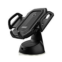 HOCO Infrared Induction Auto Lock Powerful Sticky Car Dashboard Holder for iPhone Mobile Phone Black / Blue