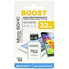 Memory Card- 32GB- Boost Micro Sd