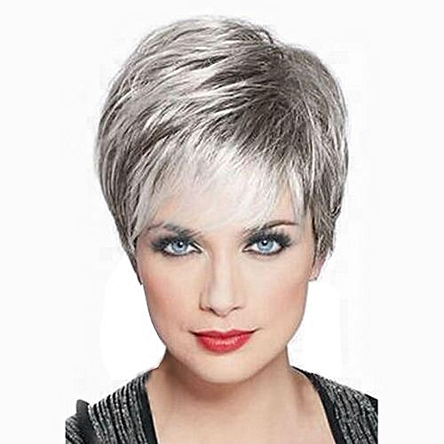 Generic Women Short Front Curly Hairstyle Synthetic Hair Wigs For Women    Best Price  19db19b277