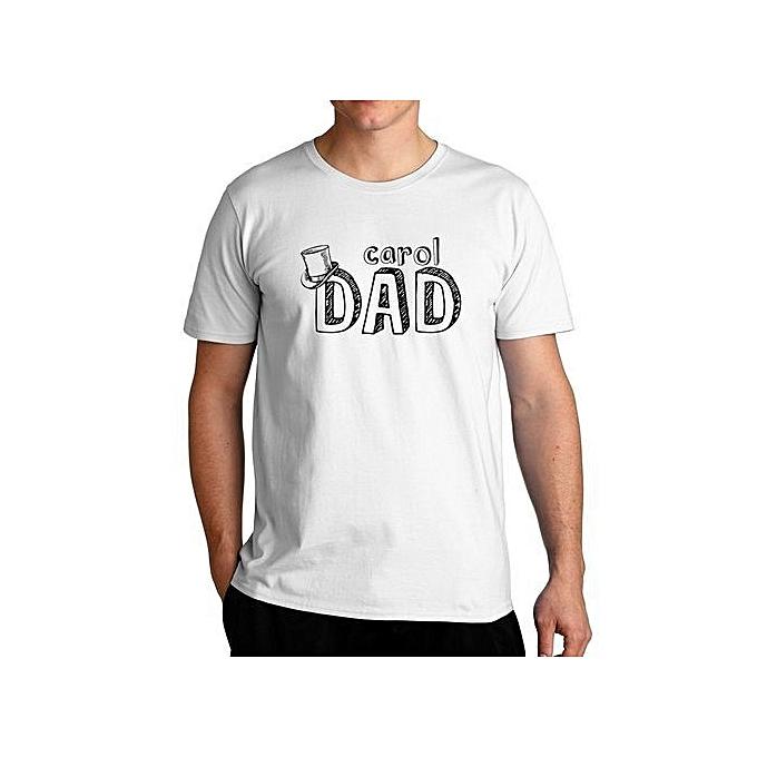 4e4e83732640 Generic Carol Dad T-Shirt For Men   Best Price