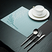 KCASA Placemat Fashion Pvc Dining Table Mat Disc Pads Bowl Pad Coasters Waterproof Table Cloth Pad S