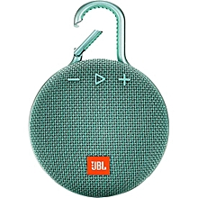 Clip 3 Portable Waterproof Wireless Bluetooth Speaker - Teal.