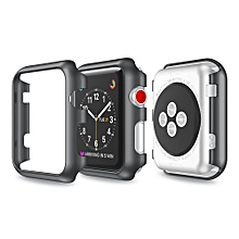 Ultra-Slim Electroplate PC Hard Case Cover For Apple Watch Series 3 38mm