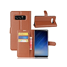 Samsung Note 4/5/6/8 Phone Cover Vintage Multi-Function Flip Stand Phone Case With Card Slots____SAMSUNG NOTE 4____black