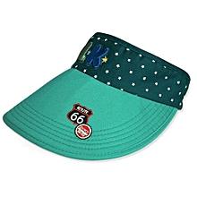 Children Hat Empty Hat Baby Hat Cute Children Sun Hat (Green)