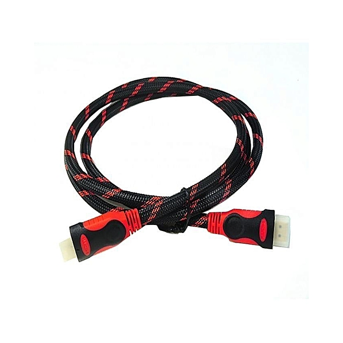 biggy smiles hdmi cable 1 5 meters black red jumia kenya. Black Bedroom Furniture Sets. Home Design Ideas