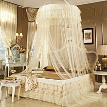 Round  Mosquito Net - Free Size - Cream