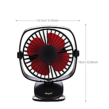 Mini Fan Portable Desk Table Fan with USB Rechargeable Clip-On-Fan for Office