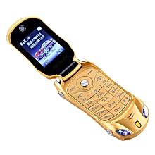 Flip Phone Dual Sim Sports Car Model Bluetooth Mobile Cell Children