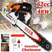 62cc 4KW Chainsaw High Power Gasoline Chain Saw Tree Cutting Machine Petrol