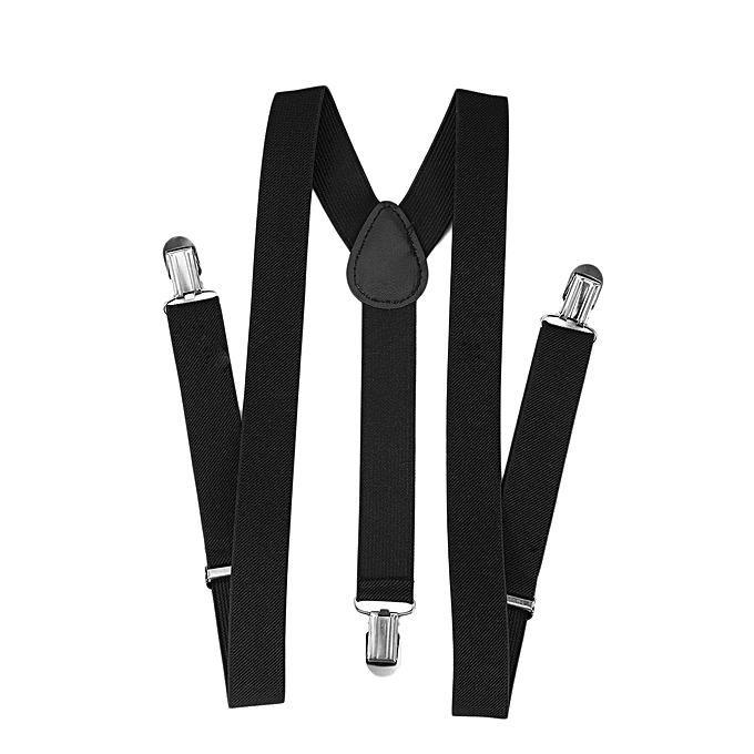1a14553eb6d Adjustable Brace Clip-on Unisex Pants Elastic Adult Child Y-back Suspender-Y