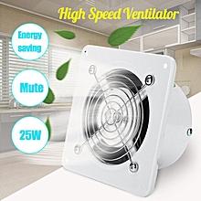 Extractor Exhaust Fan Ventilator 25W Wall Window For Toilet Bathroom Kitchen