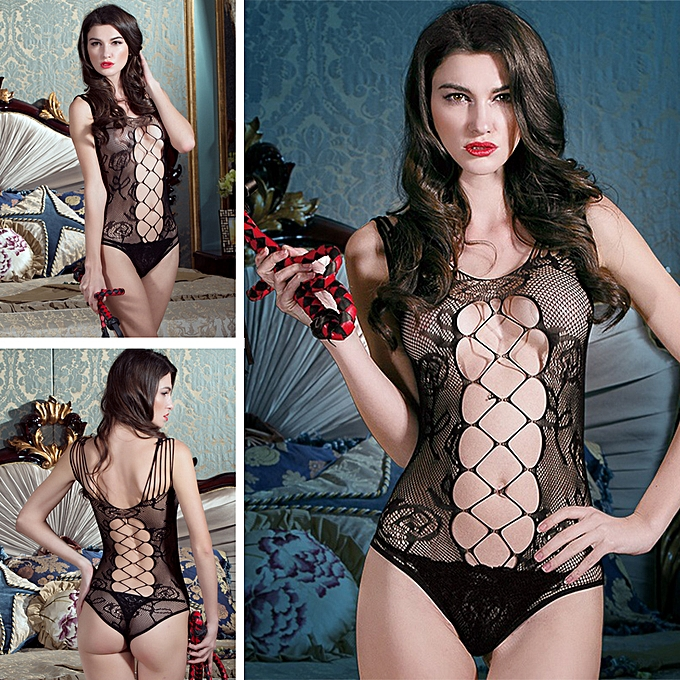 1e839651bee ... Women Exotic Lingerie Teddies Sheer Mesh See Through Backless Open  Crotch Hollow Out Net Sexy Bodysuit ...