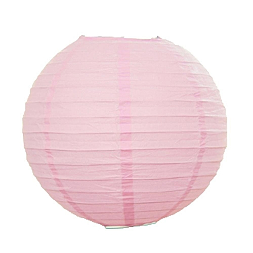 Lingstar Home Round Chinese Anese Paper Lanterns Lamp Shades Wedding Party Decoration Color Pink