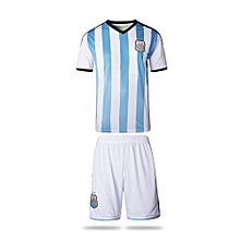 Argentina National Team Jersey And Shorts For Women (Blue/White)